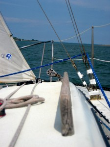 image of sailing deck